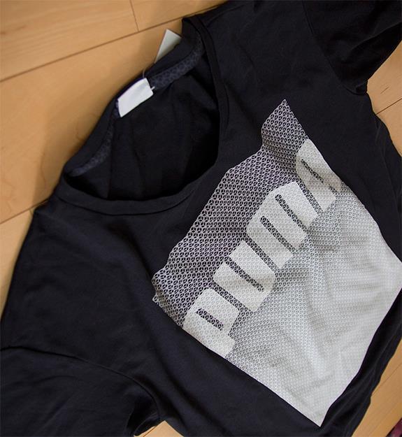 Evolution Longer Line Logo T-Shirt 570568-01 プーマ エヴォリューション・ロンガー・ライン・ロゴ・Tシャツ