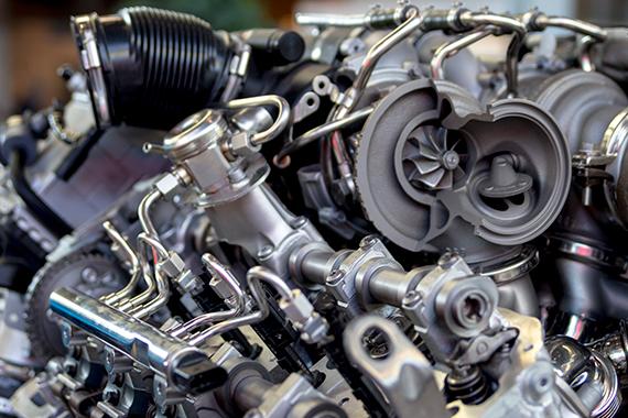 BMW M5(F10) S63B44B V8 Twin Turbo Engine