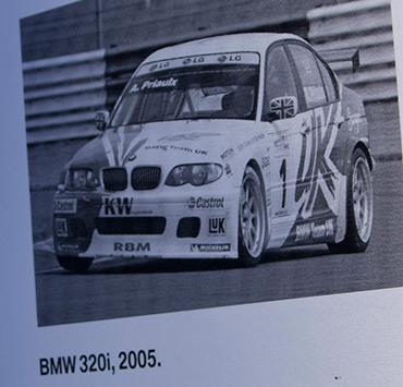 2004年のETCC、2005年のWTCCのE46 BMW320i