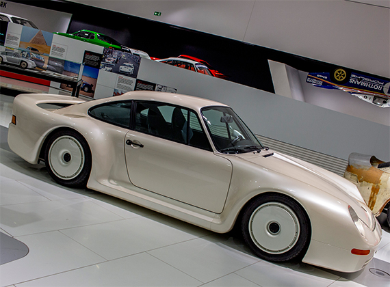 Porsche Gruppe B Concept Car, ポルシェ・グルッペB(グループB)コンセプトカー