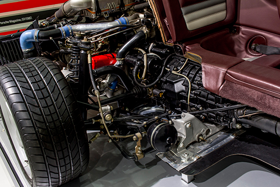 Porsche 959 Cut Model, カットモデル