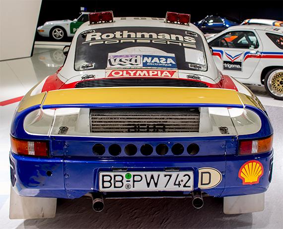 Porsche 959 Paris-Dakar, ポルシェ 959 パリダカ