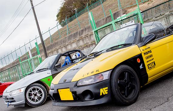 ホンダ・ビート Honda Beat PP1 鈴鹿南コース