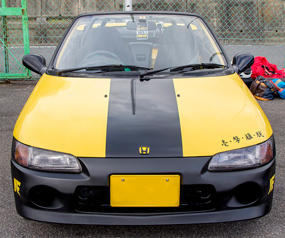 MC URA ホンダ・ビート Honda Beat PP1 鈴鹿南コース