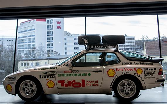 Porsche 944 Turbo Around the world ポルシェ944「アラウンド・ザ・ワールド」