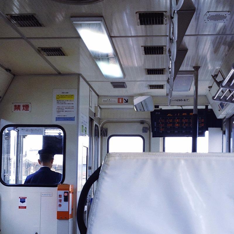 樽見鉄道 ハイモ295-617(車内)