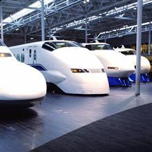 新幹線 700系、300系、100系、0系