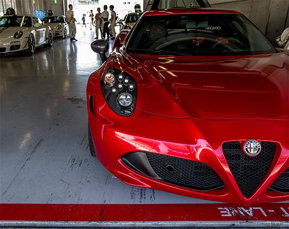 GSSジャンボリー走行会 鈴鹿サーキット Alfa4C Alfa 4C アルファロメオ