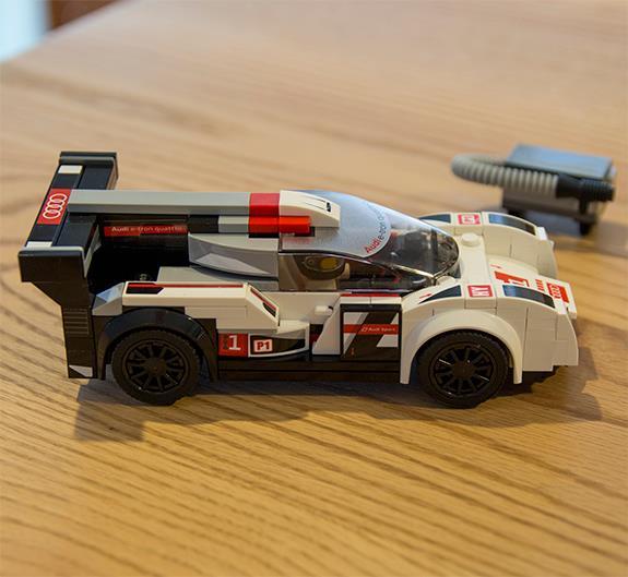 Lego Speed Champions 75872 Audi R18 e-tron quattro スピードチャンピオン アウディ R18 e-tron クワトロ
