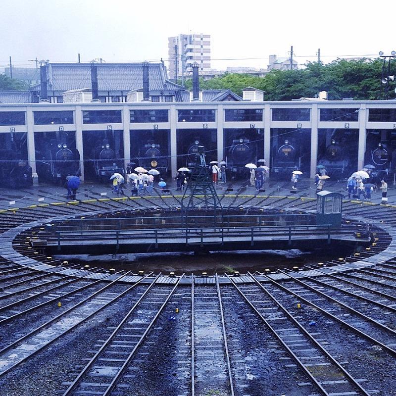 京都鉄道博物館 梅小路蒸気機関車庫 転車台