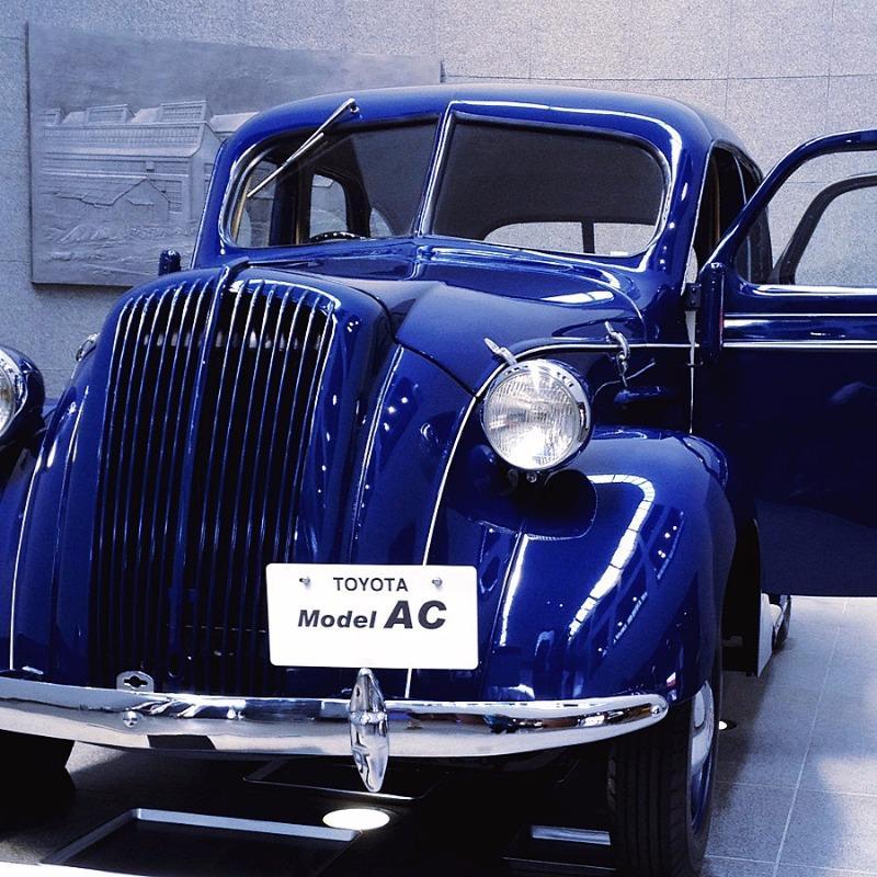 トヨタ博物館 トヨタ AC型 乗用車