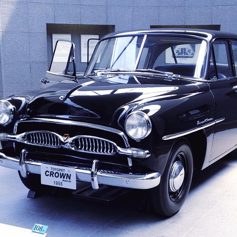 トヨタ博物館 トヨペット クラウン RS型