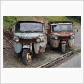 古の車たち