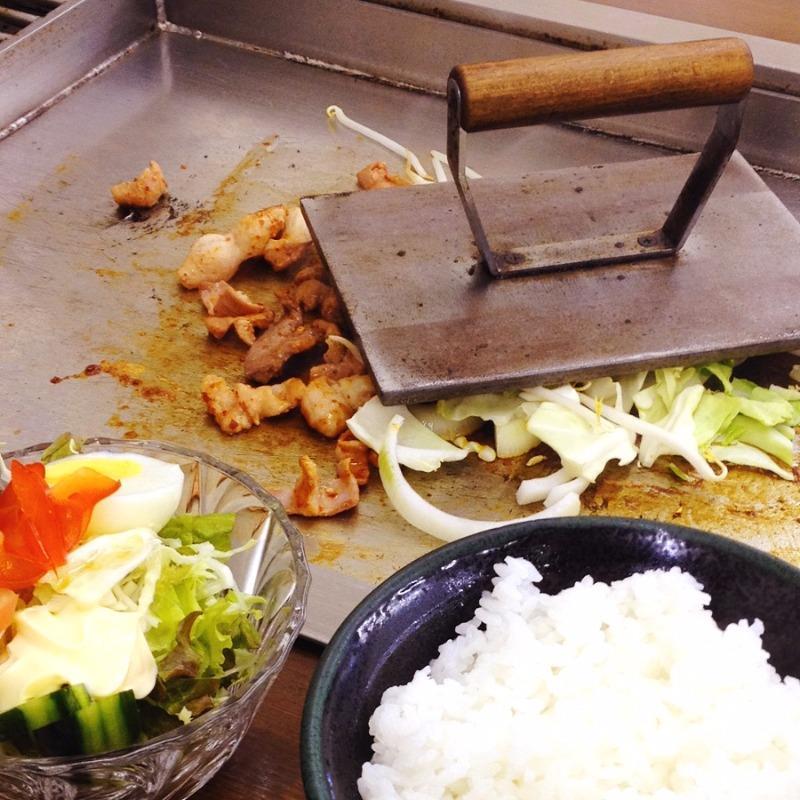 ニュー柳屋食堂 とんちゃん焼定食