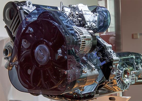 AEL Type 2.5 litre five-cylinder TDI engine 型式AEL 2.5L 直列5気筒TDI ディーゼルエンジン