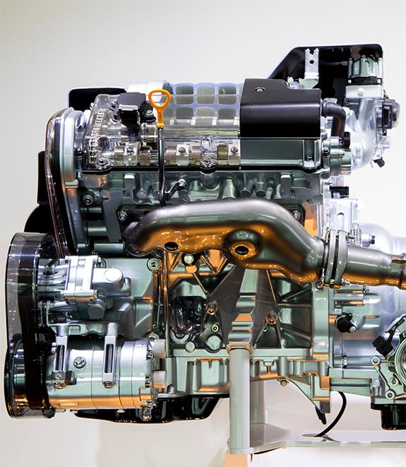 Audi AKJ Type 3.7 litre eight-cylinder engine アウディ3.7L V型8気筒 V8