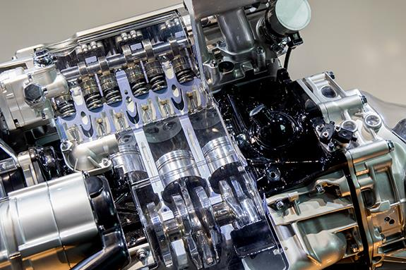 ABY Type 2.2 litre 5 cylinder turbo engine アウディ 直列5気筒 2.2L ターボ