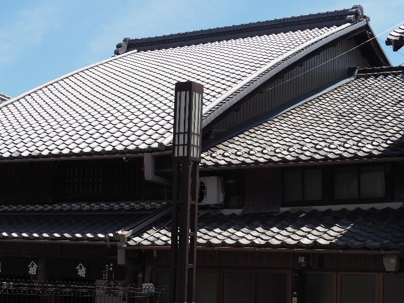 旧磯部家住宅(登録有形文化財)起り屋根