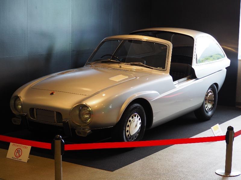 広島市交通科学館(ヌマジ交通ミュージアム)「トキメキのライトウェイトスポーツカー展」トヨタ パブリカスポーツ(復元車)