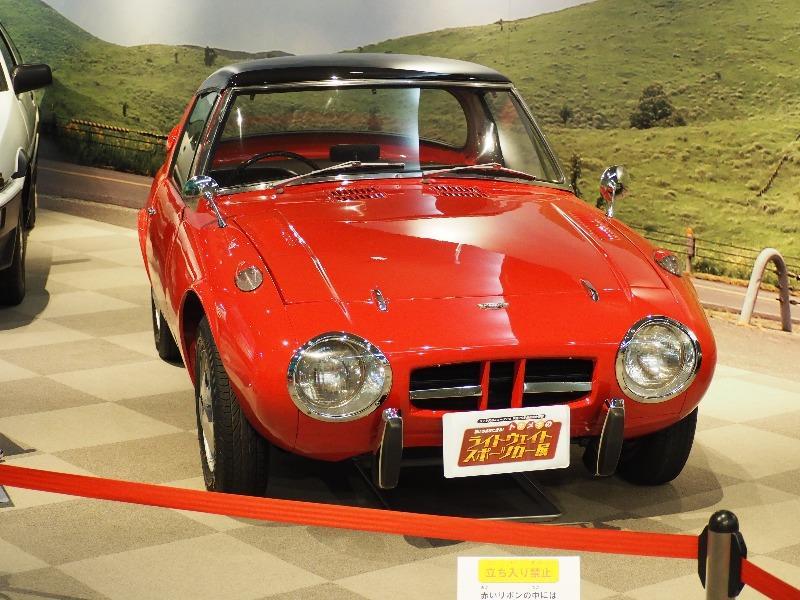 広島市交通科学館(ヌマジ交通ミュージアム)「トキメキのライトウェイトスポーツカー展」トヨタ スポーツ 800