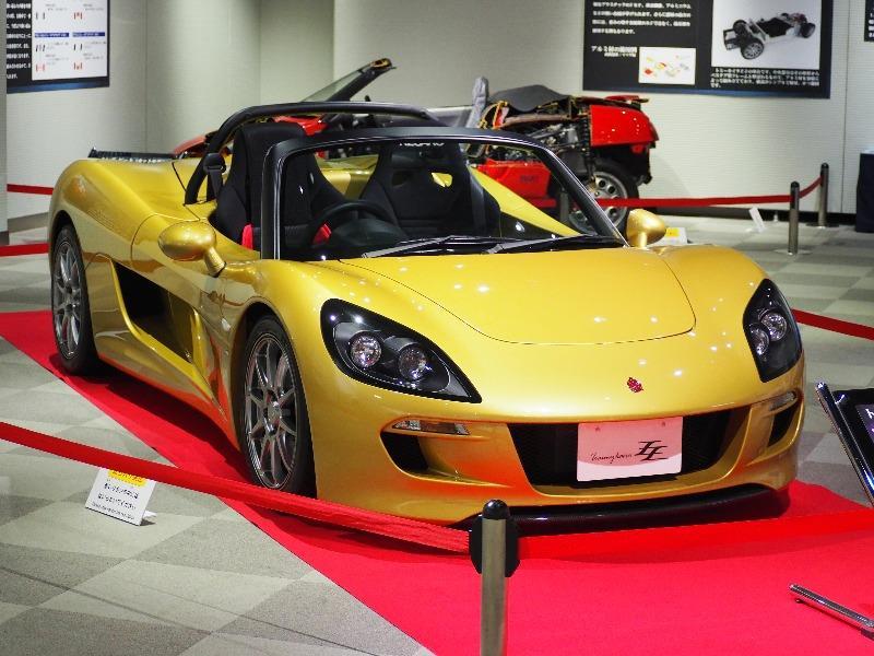 広島市交通科学館(ヌマジ交通ミュージアム)「トキメキのライトウェイトスポーツカー展」トミーカイラZZ