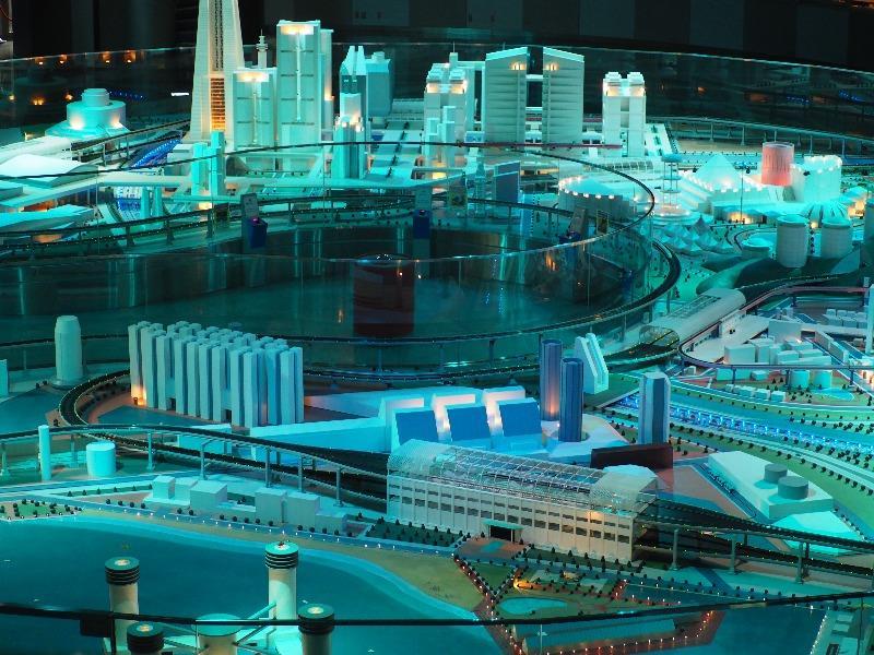 広島市交通科学館(ヌマジ交通ミュージアム)ビークルシティ