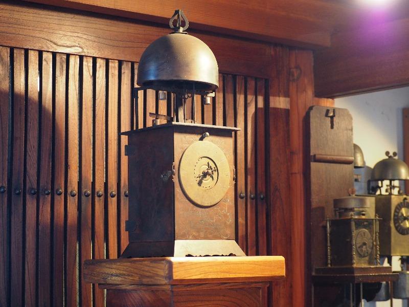 福山自動車時計博物館 ランタン時計