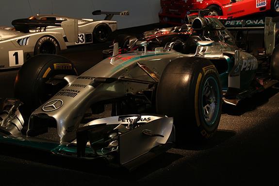 Mercedes-Benz Museum メルセデス・ベンツ博物館 Mercedes-Benz F1 W05 Hybrid 2014 メルセデスGP