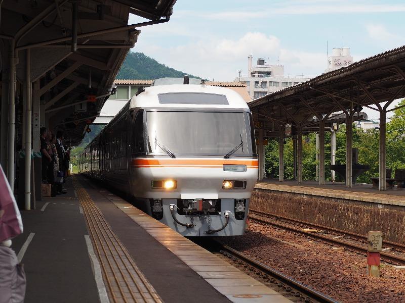 下呂駅 高山本線 ワイドビューひだ8号