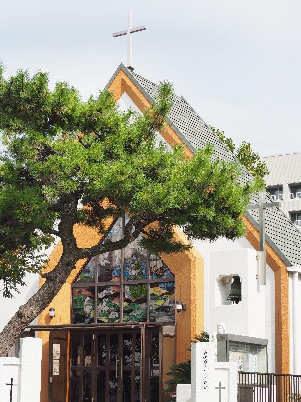 八町通 豊橋カトリック教会