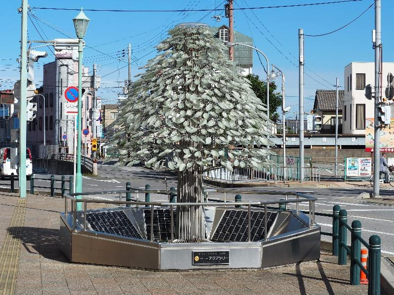 長浜駅 アクアツリー
