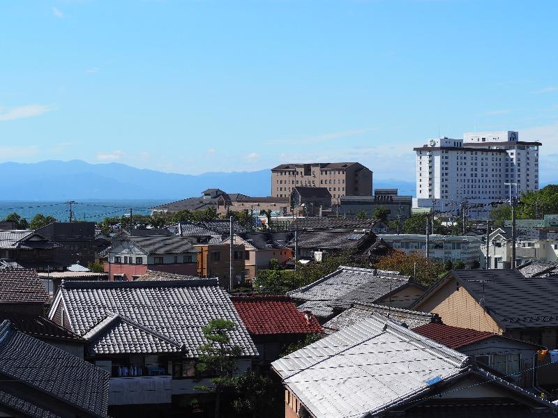 ヤンマーミュージアム 屋上展望台 長浜ロイヤルホテル
