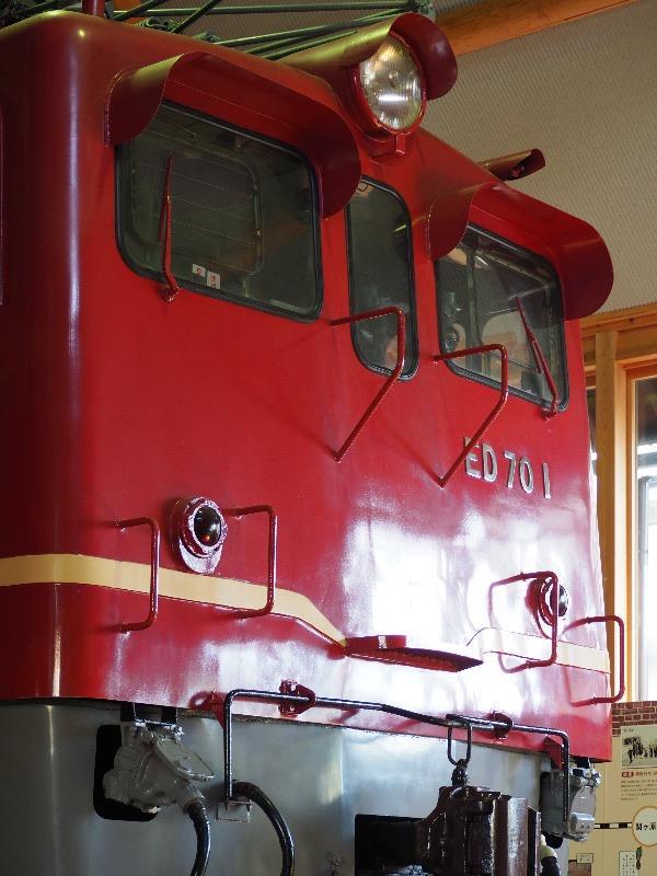 長浜 長浜鉄道スクエア 北陸線電化記念館 電気機関車 ED70型の1号機