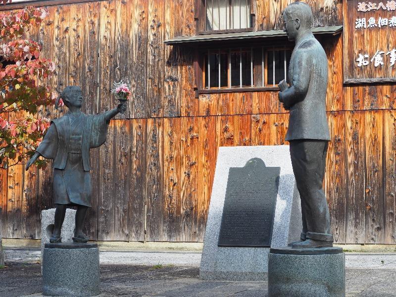 近江八幡 ヴォーリズ像