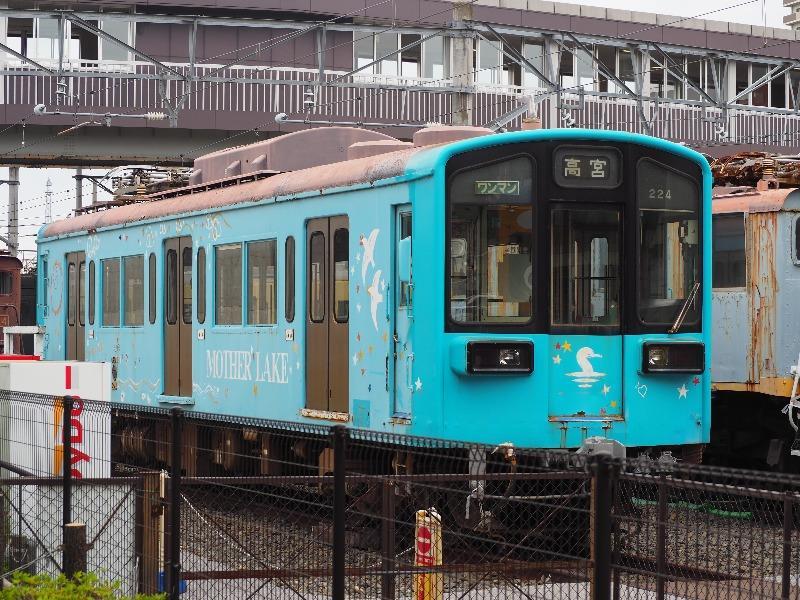 彦根駅 近江鉄道ミュージアム モハ220