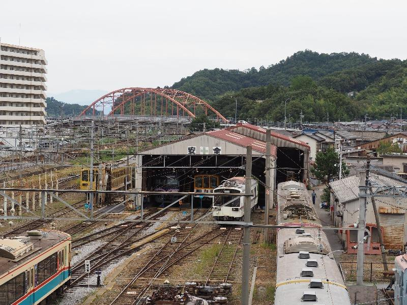 彦根駅 西武鉄道車両基地