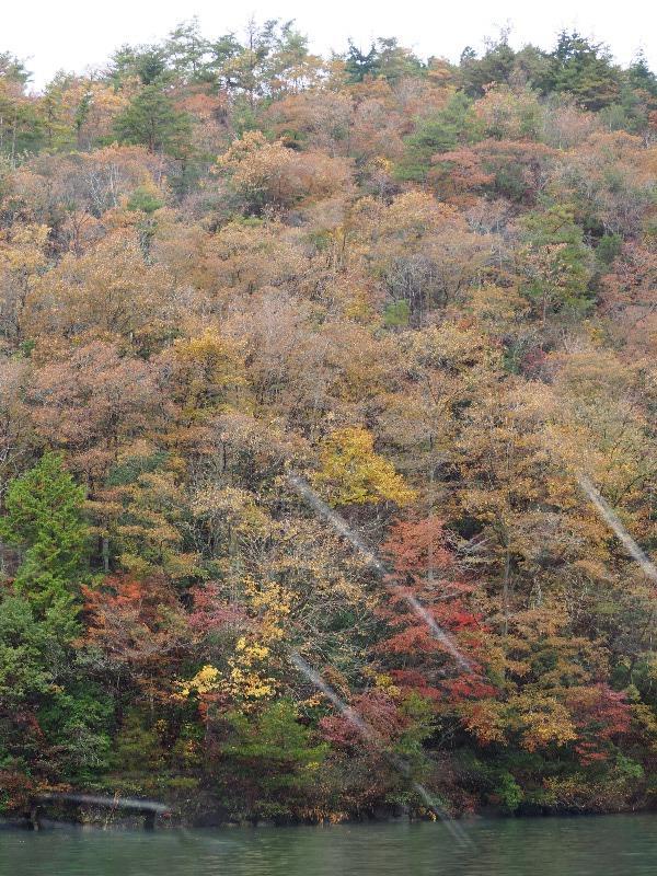 恵那峡 恵那峡めぐり 紅葉