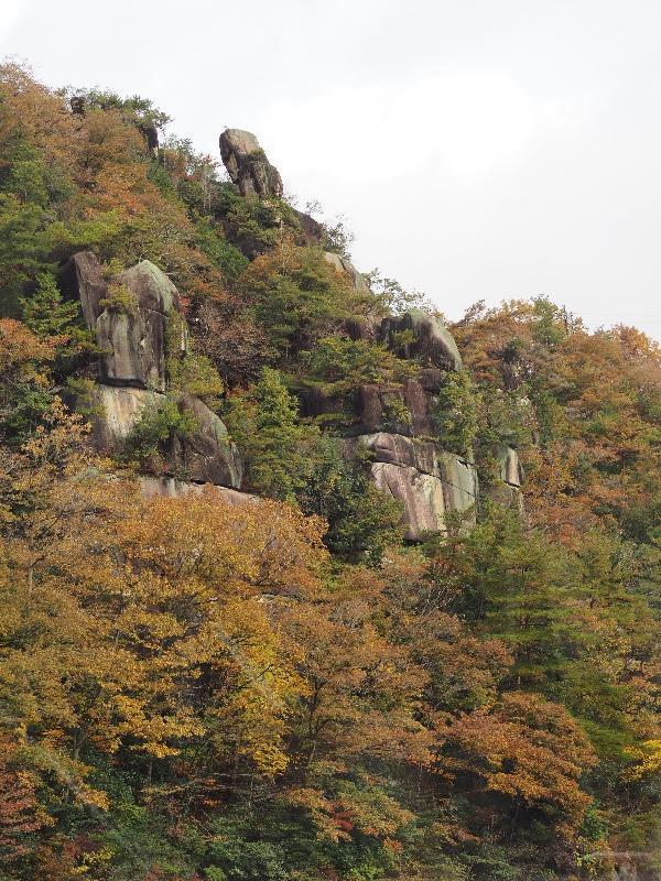 恵那峡 恵那峡めぐり 天指岩