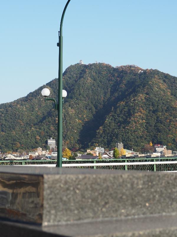 金華橋……から金華山