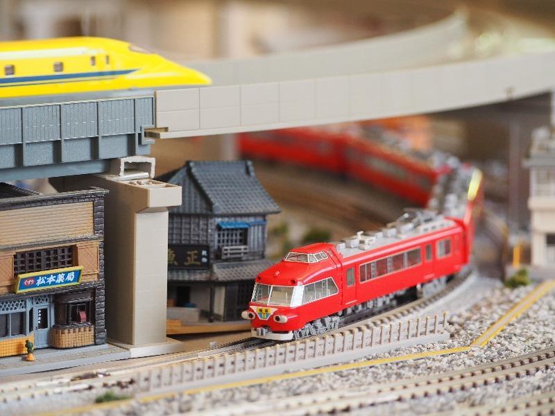 鉄道カフェはるか TOMIX Nゲージ 名鉄7000系パノラマカー