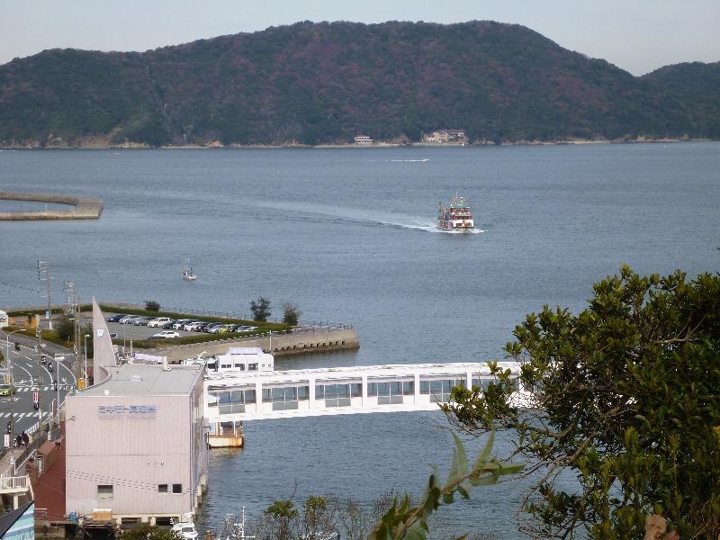 鳥羽城跡……から答志島・ミキモト真珠島と志摩マリンレジャー「竜宮城」