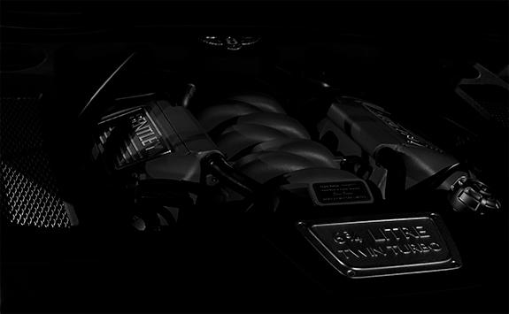 BENTLEY Mulsanne Speed(ベントレー・ミュルザンヌ・スピード) 6.75リッター V8ツインターボチャージド エンジン