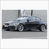 BMW M2  2018LCIモデルスクープ写真