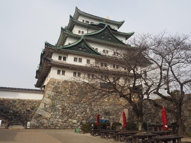 名古屋城 本丸から天守