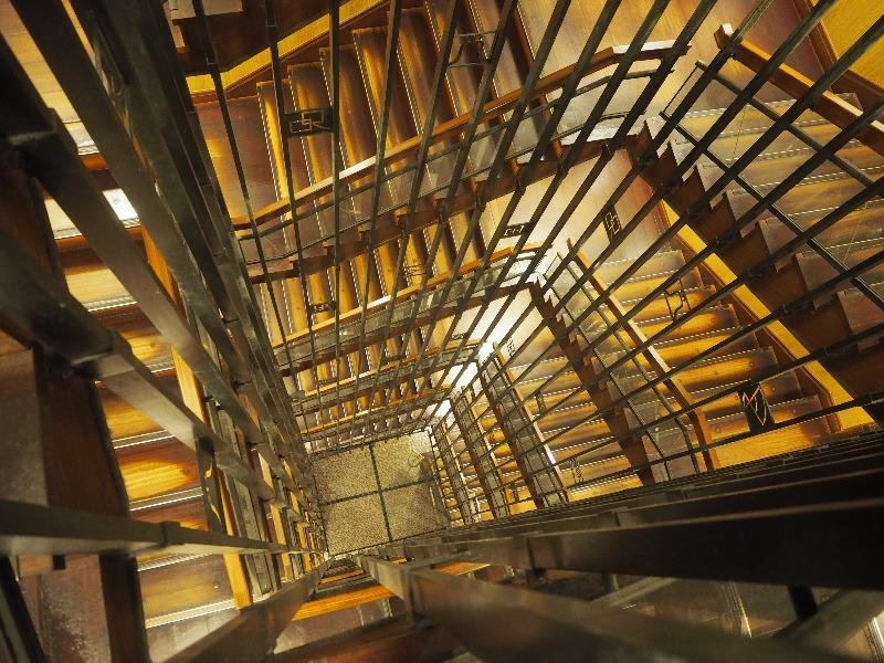 名古屋城 らせん階段