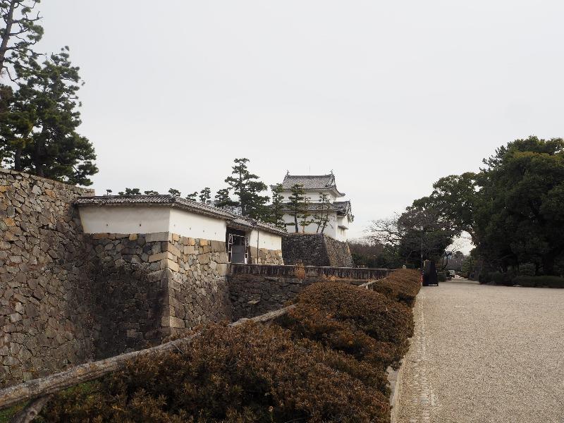 名古屋城 重要文化財 表二之門と東南隅櫓(辰巳櫓)