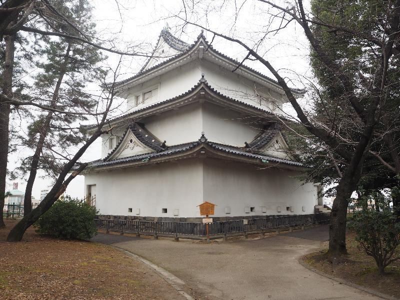 名古屋城 重要文化財 西北隅櫓(戌亥櫓・清洲櫓)