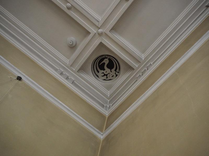 旧豊田佐助邸 1階 洋間 天井の換気口