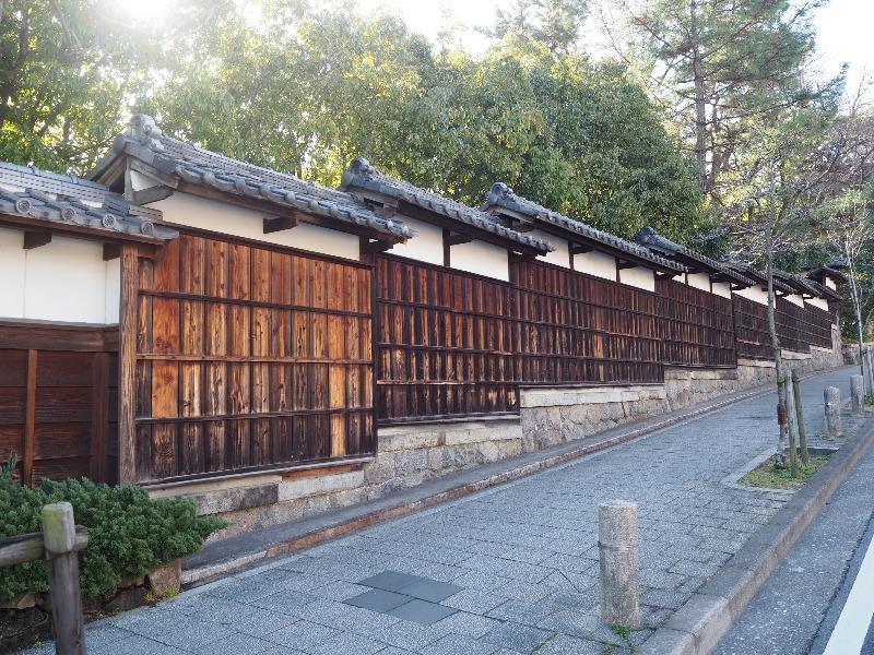徳川園 塀(へい)登録有形文化財