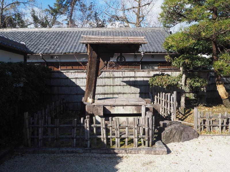 徳川園 釣瓶井戸(つるべいど)登録有形文化財